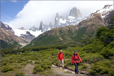 Geographic Expeditions Patagonia, Argentina and Chile hiking vacations.