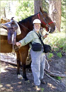 Active horseback vacations for seniors in California's Yosemite National Park.