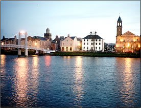 Inverness is the trade center of the Scottish Highlands.