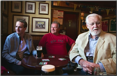 Discovering relatives at an Irish pub is part of creative travel that enriches retirement.