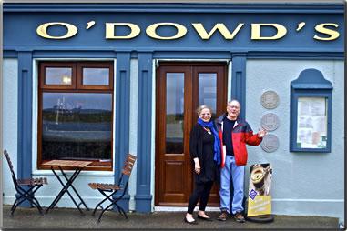 O'Dowd's Pub in Roundstone, Connemara.