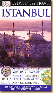 DK Eyewitness Travel Istanbul guidebook.