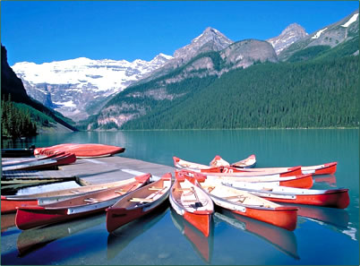 Canada's Rocky Mountain Parks are UNESCO World Heritage Sites.