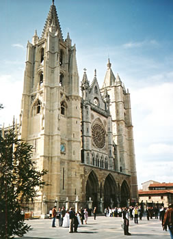Cathedral at Leon, Spain