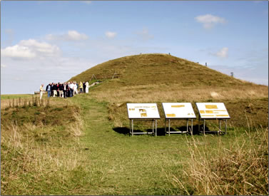 Maeshowe burial mound, Neolithic archaeology Orkney Islands, Scotland.