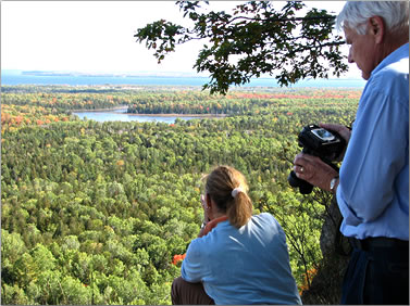 Manitoulin Island aboriginal experiences, Mother Earth Hiking Tour.