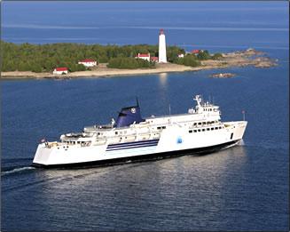 Manitoulin Island ferry.