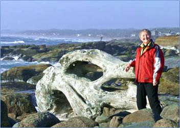 Marianne Scott, author of article, Oregon's Pacific Coast.