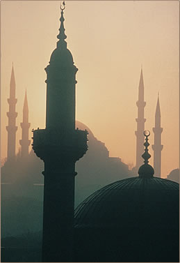 Istanbul, Turkey is a centerpiece of historic and cultural tourism.