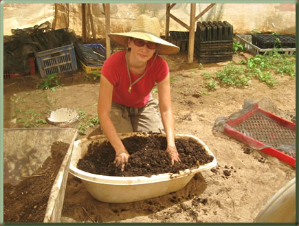 Learn about organic farming and gardening through volunteer travel in the U.S.A. and worldwide.