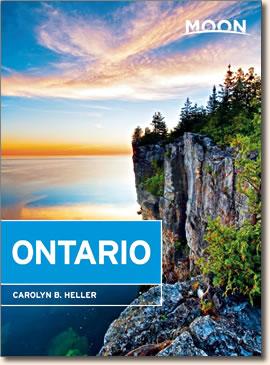 Moon Handbooks: Ontario, 2015 edition by Carolyn B. Heller.