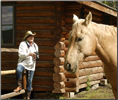 Nancy Bearg travels to pursue her interest in horse photography.