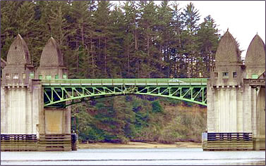 Oregon Coast historic bridges.