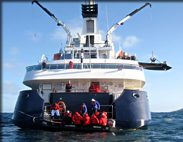 Orion offers adventure travel small-ship cruising.