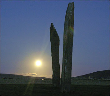 Standing Stones of Stenness, senior travel to Orkney Islands.