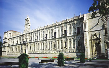 Convent of San Marcos in Leon, Spain