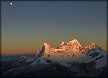 Wilderness photography: mountains of Peru.