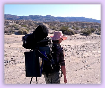 Wellness and Pilgrimage Travel, woman with backpack hiking.