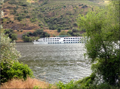 River cruising on Portugal's Douro River.