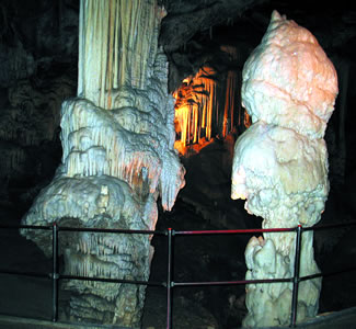 Postojna Caves in Slovenia for senior travel with ElderTreks.