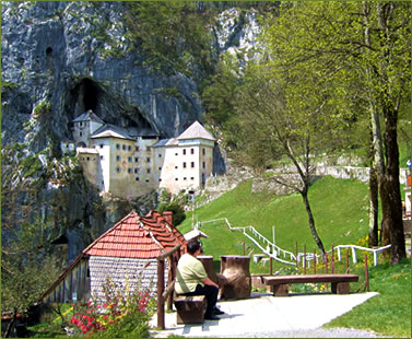 Predjama Castle, national parks and world heritage sites of Slovenia and Croatia on an ElderTreks seniors travel tour.