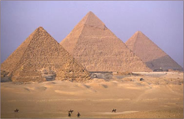 Egypt's pyramids have great spiritual significance for travelers from around the world.