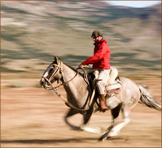 Margie Goldsmith's Hiking and Riding Vacation in Patagonia, Estancia Cristina.