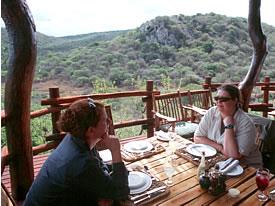 Phinda safari lodge.