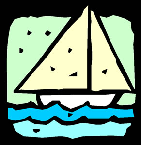 Graphic of a sailboat.