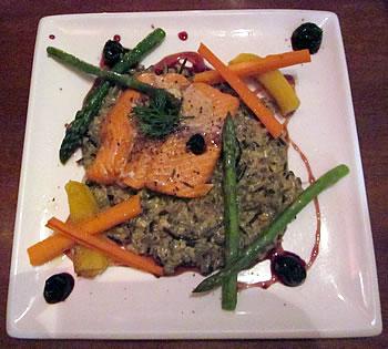 Salmon n Bannock native cuisine restaurant in Vancouver, British Columbia.