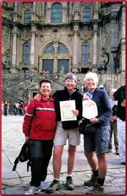 Santiago de Compostela, Spanish walking holidays, women travel in Spain, senior travel in Spain.
