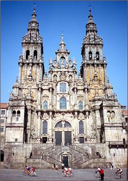 Northern Spain's Santiago de Compostela is a pilgrimage vacation for millions of visitors.