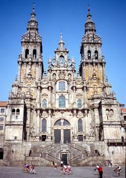Santiago de Compostela and Camino de Santiago UNESCO World Heritage Sites.