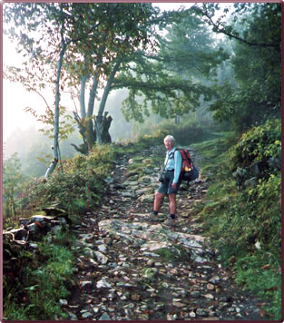 Camino de Santiago, women hiking holidays, walking to Santiago de Compostela, pilgrimage vacations Camino de Santiago, senior pilgrimage holidays, Spanish walking vacations.