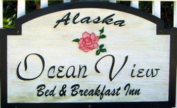 Ocean View Bed & Breakfast Inn, Sitka, Alaska.