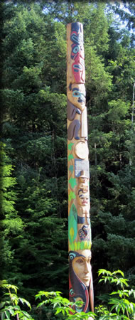Things to do in Sitka at Sitka National Historical Park, totem poles.