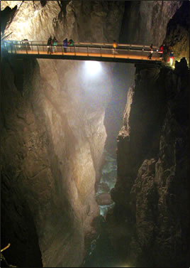 Skocjan Caves in Slovenia for senior travel with ElderTreks by Alison Gardner.
