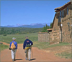 Seniors walking vacations in Spain, Greece, Italy and Switzerland.