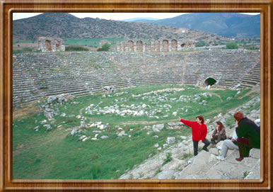Roman stadium at Aphrodisias.