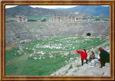 Roman stadium at Aphrodisias.