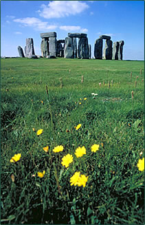 Stonehenge in England is a destination for spiritual pilgrimage vacations.