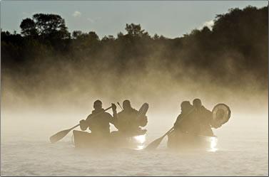 Manitoulin Island aboriginal experiences, Canoe Heritage Tour.