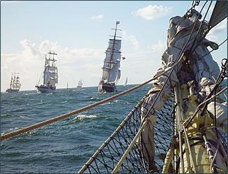 Tall Ships' Races run every year.