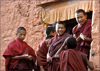 Tibetan monasteries are popular spiritual travel destinations.