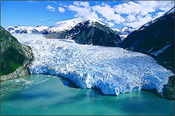 Alaska's Glacier National Park is a UNESCO World Heritage Site.