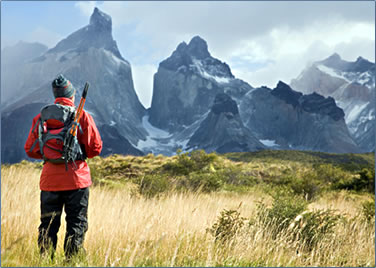 Margie Goldsmith's Hiking and Riding Vacation in Patagonia.