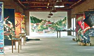 Upper Gallery, Adatepe Olive Oil Museum, Turkey