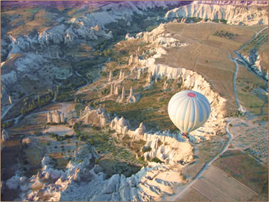 Cappadocia ballooning photos by Alison Gardner.