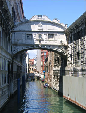 Bridge of Sighs: Venice, Italy: A City that belongs to the World.