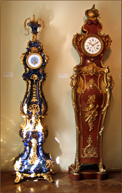 Vienna has 120 museums, including the Clock Museum.
